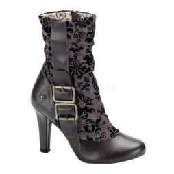 Costume-Ladies Steampunk Calf Boots